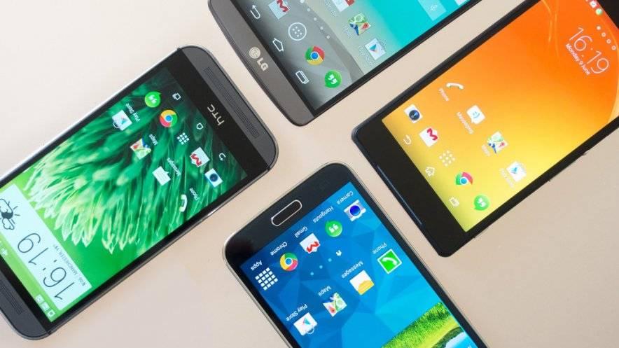 Самые мощные смартфоны в мире