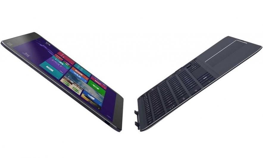 Самый тонкий в мире планшет-трансформер Asus Transformer Book T300 CHI