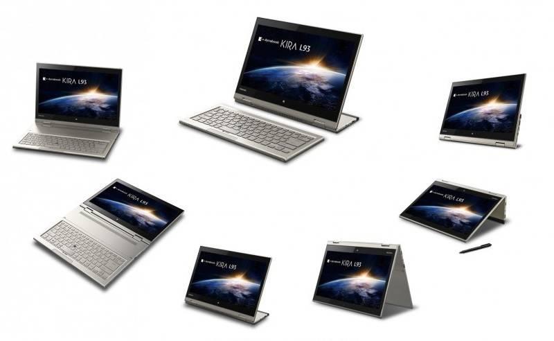Компания Toshiba потрясла мир, выпустив новый гибридный планшет Dynabook Kira L93