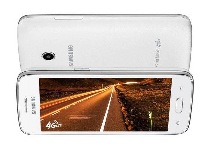 Компания Samsung представила свой недорогой компактный смартфон Galaxy Core Mini 4G