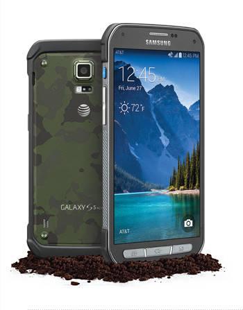 Новый водонепроницаемый смартфон Samsung Galaxy S5 Active.
