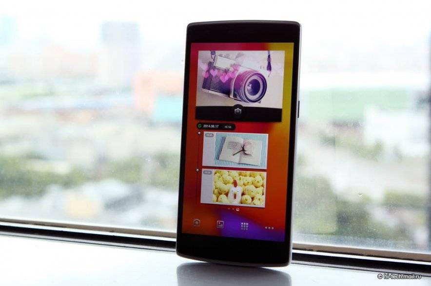 Новый топовый смартфон OnePlus One от производителей Xiaomi и Meizu