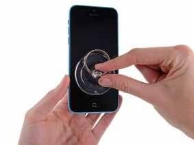 Способ открытия в ручную — Замена разъема питания для Apple iPhone 5c